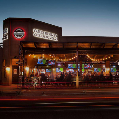 AZ Foothills Magazine Names Cold Beers & Cheeseburgers as One of the Best Outdoor Patios!