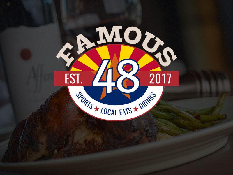Famous 48 logo