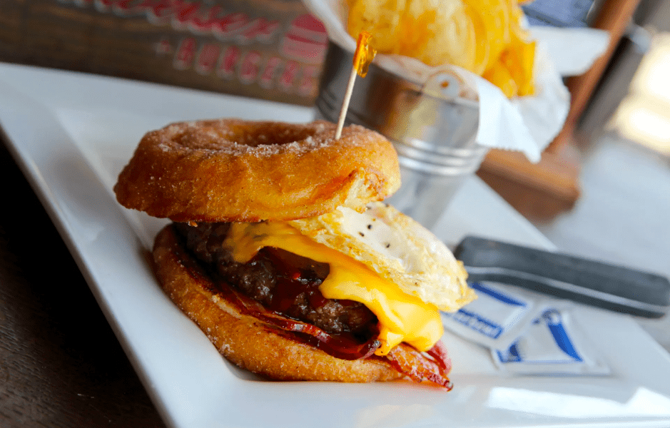 donut bar burger